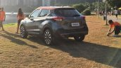 Nissan Kicks rear three quarters left side