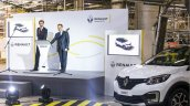 Renault Kaptur first unit at Moscow plant