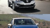 Renault Kaptur vs. Renault Captur in motion