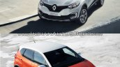 Renault Kaptur vs. Renault Captur top view