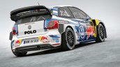 Second generation VW Polo R WRC rear three quarters