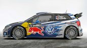 Second generation VW Polo R WRC side profile