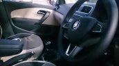 Skoda Rapid facelift interior spied up close