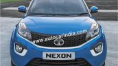 Tata Nexon front close detailed images
