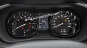Tata Nexon instrument cluster detailed images