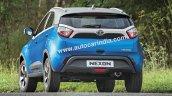 Tata Nexon rear detailed images
