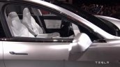 Tesla Model 3 interior front seats