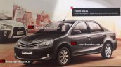 Toyota Etios facelift exterior