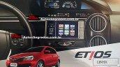 Toyota Etios facelift interior