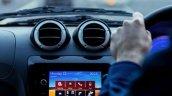 UK-spec Mahindra e2o Blaupunkt infotainment system