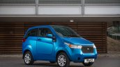 UK-spec Mahindra e2o front three quarters