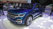 VW T-Prime GTE Concept front quarter at Auto Expo 2016