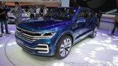 VW T-Prime GTE Concept front quarter at Auto Expo 2016