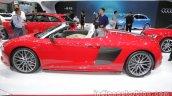 2016 Audi R8 Spyder left side at Auto China 2016