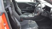 2016 Audi R8 V10 Plus cabin first drive