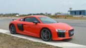 2016 Audi R8 V10 Plus front three quarter first drive