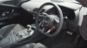 2016 Audi R8 V10 Plus interior first drive