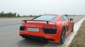 2016 Audi R8 V10 Plus rear quarter first drive
