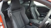 2016 Audi R8 V10 Plus seats first drive