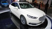 2016 Ford Taurus front three quarters right side at Auto China 2016