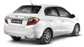 2016 Honda Brio Sedan rear launched in South Africa