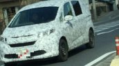 2016 Honda Freed front spyshot