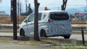 2016 Honda Freed rear three quarter spyshot