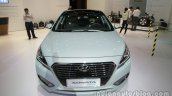 2016 Hyundai Sonata Hybrid front at Auto China 2016