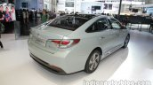 2016 Hyundai Sonata Hybrid rear three quarters at Auto China 2016