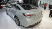 2016 Hyundai Sonata Hybrid rear three quarters left side at Auto China 2016