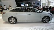 2016 Hyundai Sonata Hybrid side profile at Auto China 2016