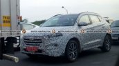 2016 Hyundai Tucson front spied India