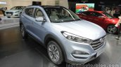 2016 Hyundai Tucson front three quarters at Auto China 2016