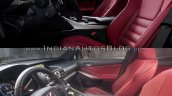 2016 Lexus IS vs. 2014 Lexus IS interior front seats
