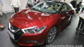2016 Nissan Maxima front three quarters at Auto China 2016
