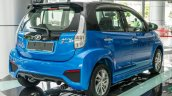 2016 Perodua Myvi 1.5L Advance rear three quarter launched