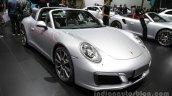 2016 Porsche 911 Targa 4 front three quarters at Auto China 2016