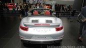 2016 Porsche 911 Turbo S Cabriolet rear at Auto China 2016