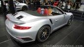 2016 Porsche 911 Turbo S Cabriolet rear three quarters at Auto China 2016