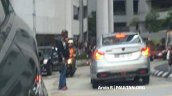 2016 Proton Persona rear spied completely undisguised