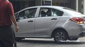 2016 Proton Persona rear three quarter spied completely undisguised