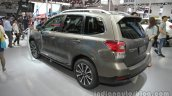 2016 Subaru Forester rear three quarters at Auto China 2016