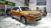 2016 Suzuki Vitara front three quarters at Auto China 2016