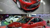 2016 Toyota Vios vs. 2014 Toyota Vios front three quarters
