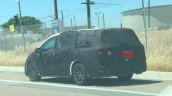 2017 Honda Odyssey spied