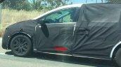 2017 Honda Odyssey test mule