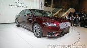 2017 Lincoln Continental front three quarters right side at Auto China 2016
