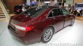 2017 Lincoln Continental rear three quarters at Auto China 2016