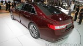 2017 Lincoln Continental rear three quarters left side at Auto China 2016