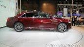 2017 Lincoln Continental side profile at Auto China 2016